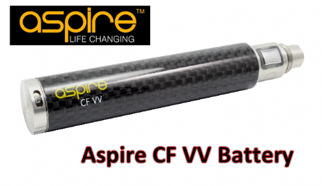 Aspire Carbon Fibre VV 1600mah Battery